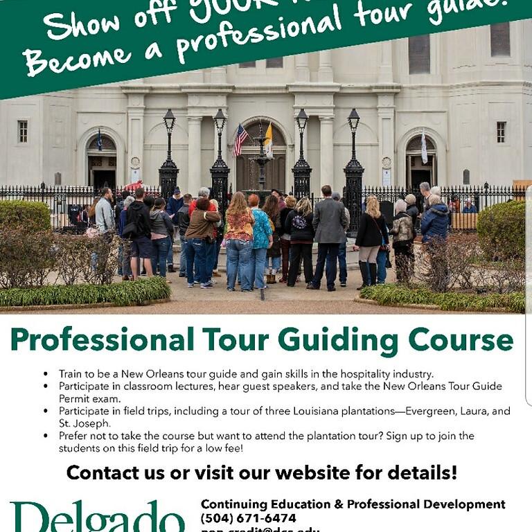 Professional Tour Guiding Course
