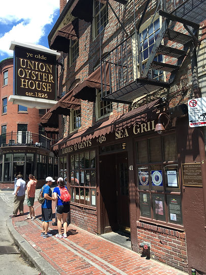 Union Oyster House | Reserve a Tour | Boston Sightseeing Tours