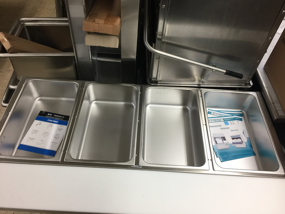 Bk Resources Steam Table Ste 4 120 Commercial Appliance