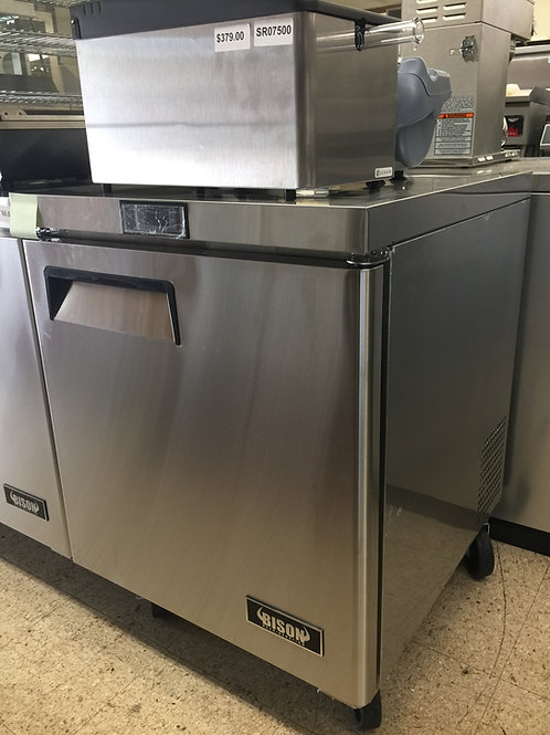 Bison Undercounter Refrigerator/Cooler (BUR-27)