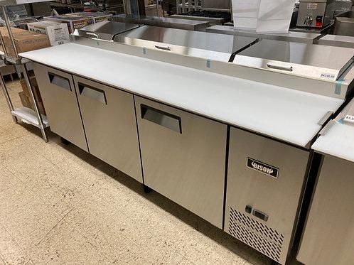 Bison 93 Inch Pizza Prep Cooler/Refrigerator (BPT-93)
