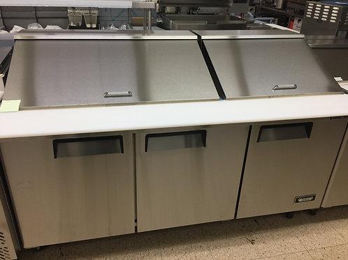 Bison 72 Inch Mega Top Prep Cooler/Refrigerator (BST 72-30)