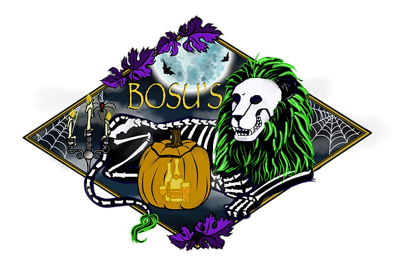 Bosu - Lion Horizontal - Halloween.png