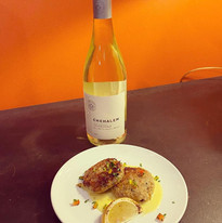 01 - Sweet Potato Crusted Crab Cakes wit