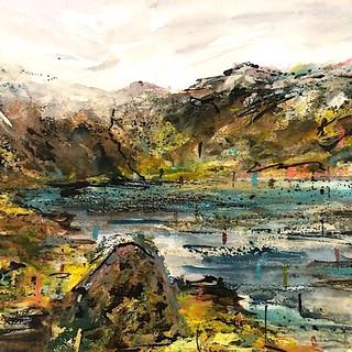 Cwm Idwal - Watercolour Commission