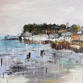 Barrage - Acrylic on Canvas