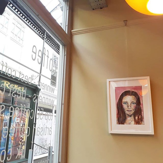 G I R L S exhibition at Waterloo Tea Tea, Wyndham Arcade