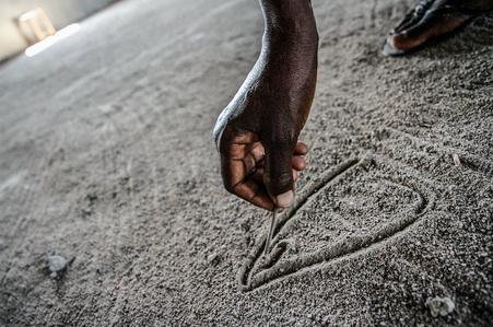 Ngariba illustrates the FGM process