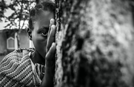 Portrait of a child bride