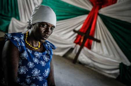 Portrait of an ngariba - woman who performs FGM