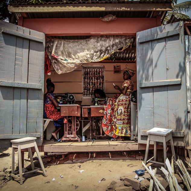 Former street kids formed a tailoring business