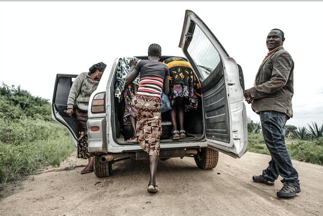 Girls flee their village before being forced to undergo FGM