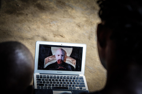 Locals watch infamous Nollywood movie 'End of the Wicked'