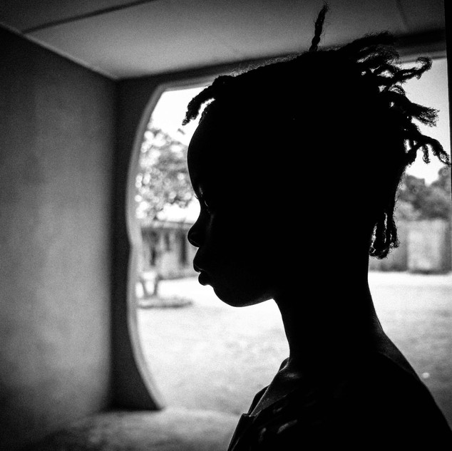 Street kid at safe house