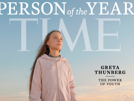 TIME'S  2019 PERSON OF THE YEAR: GRETA THUNBERG