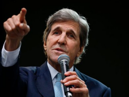 John Kerry Launches New Climate Coalition 'World War Zero' With Famous Friends