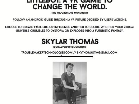 PROGRESSOR 24: Skylar Thomas