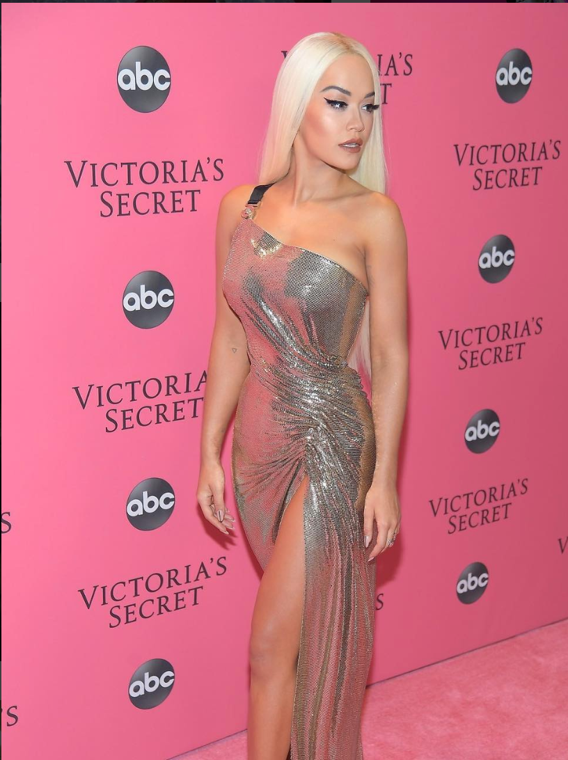 Rita Ora at The Victoria's Secret show 2018