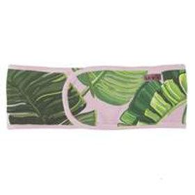 Microfiber Spa Headband - Palm Print