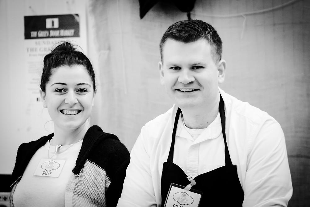 ally & Robert - Fusion Food Sundays - Dublin - Photo by Paul Dunn
