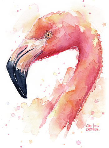 PngJoy_birds-flamingo-watercolor-paintin