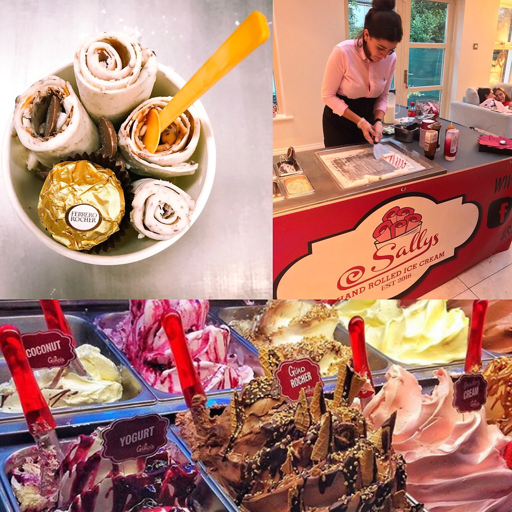 Ice Cream Rolls v Gelato - Dublin