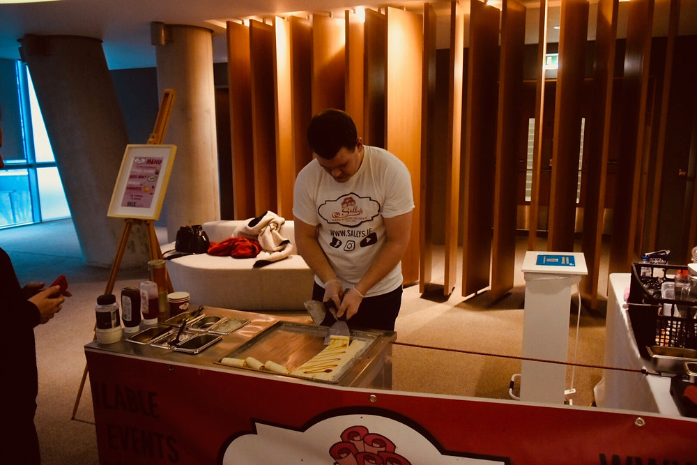 WIX Dublin - Corporate Events - Sally's Hand Rolled Ice Cream