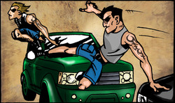 """""""The Fast and the Furious"""" Chop Shop"""