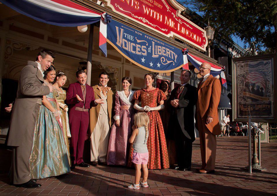 Voices of Liberty, Disneyland