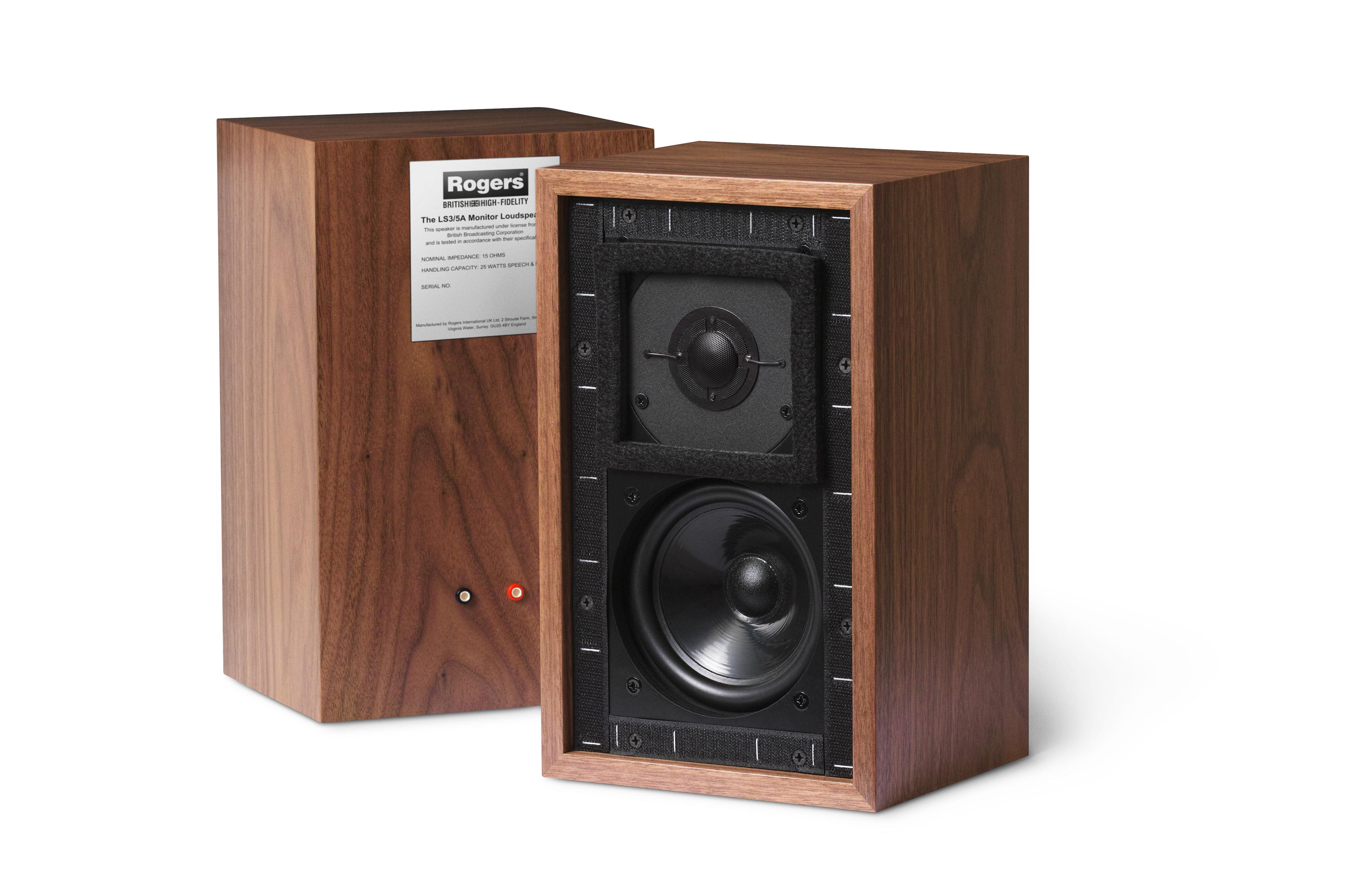 Rogers Speaker LS3/5A Classic (Rosewood) | LTKH TRADING PTE LTD