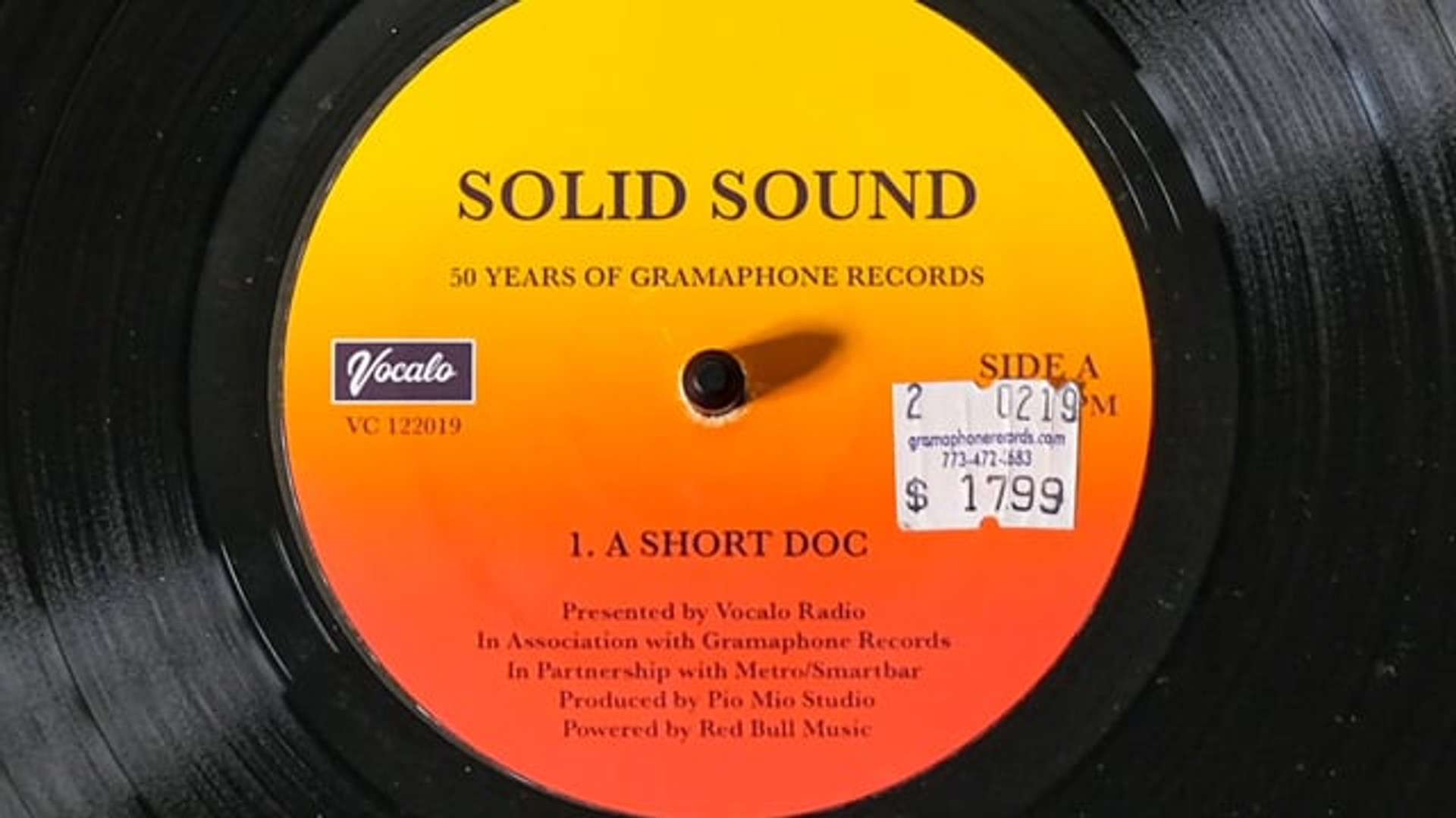 Solid Sound: 50 Years of Gramaphone Records | A Mini-Documentary