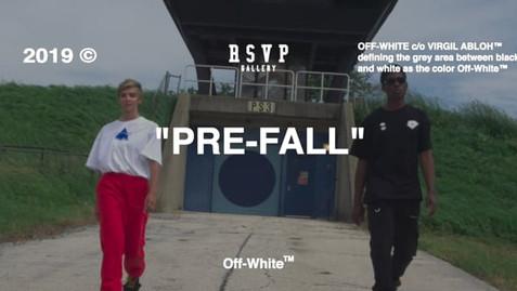 """Off-White """"Pre-Fall"""" 2019"""