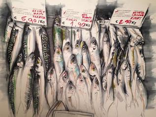 Fish Market in Rimini SOLD