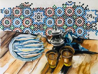 Tea in Essaouira
