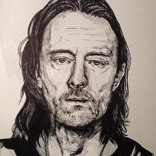 Thom Yorke. Karma Police