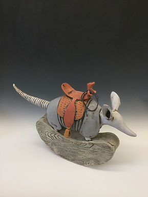 Rocking Armadillo with Saddle 3