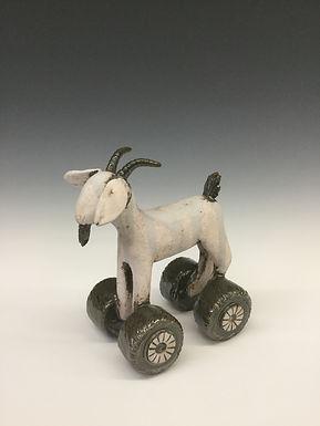 Goat on Wheels 2