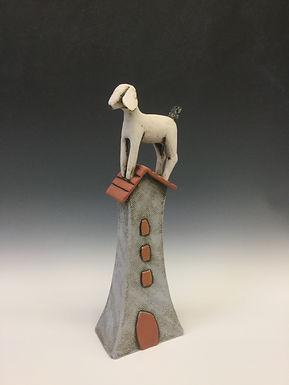 Goat on House 2