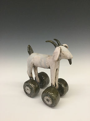 Goat on Wheels 4