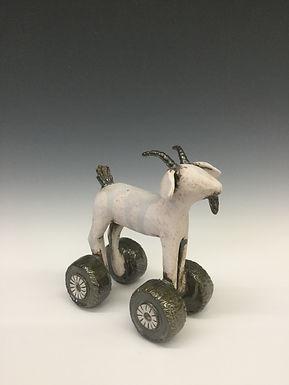 Goat on Wheels 3