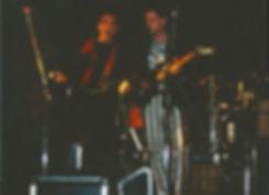 Christian Frank und Joachim Schnoed Schön rocken mit der Gerlinger Pamband