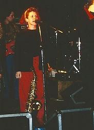 Anja Egelhaaf singt bei Pamband live