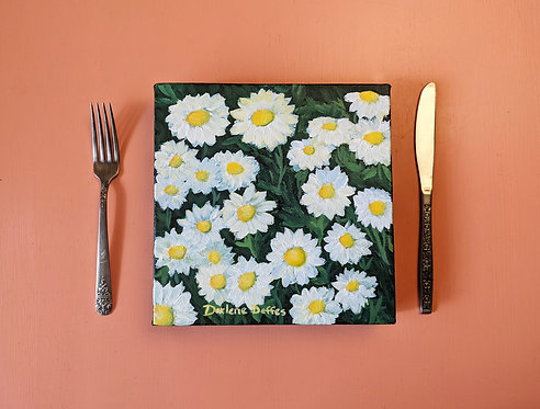Daisies Today Painting