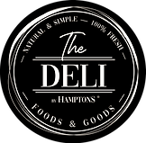 Deli HAMPTONS logo Black round.png