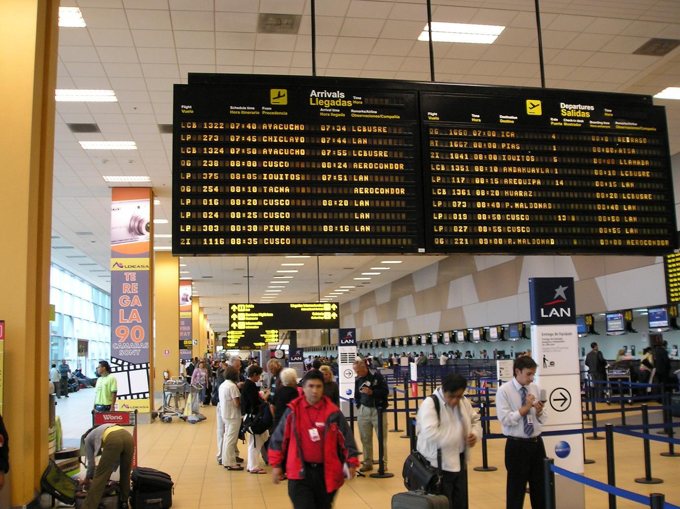 Jorge Chávez International Airport