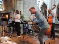 Jazz in Southwark Cathedral - 2