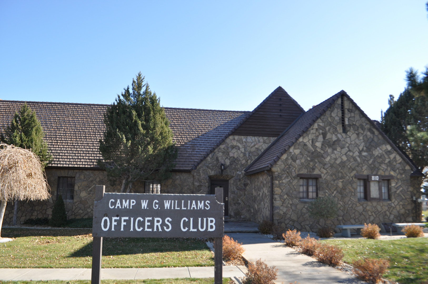 Officer's Club Front