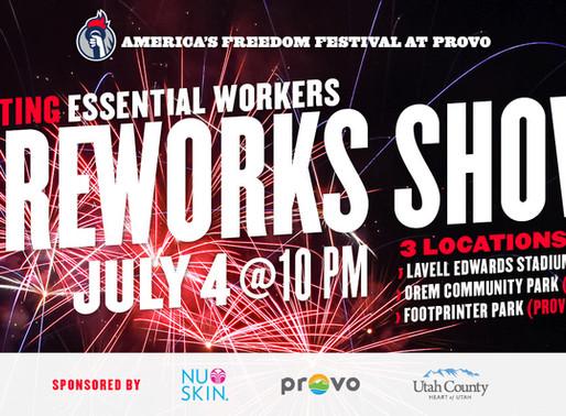 HUGE Fireworks Display Coming to the Utah Valley