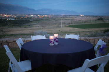 Night Outdoor Table