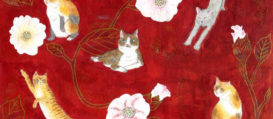 猫神は細部に宿る 〜Hisada Makiko展〜